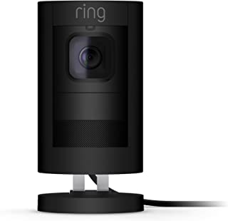 Ring Stick Up Cam Wired HD Security Camera with Two-Way...