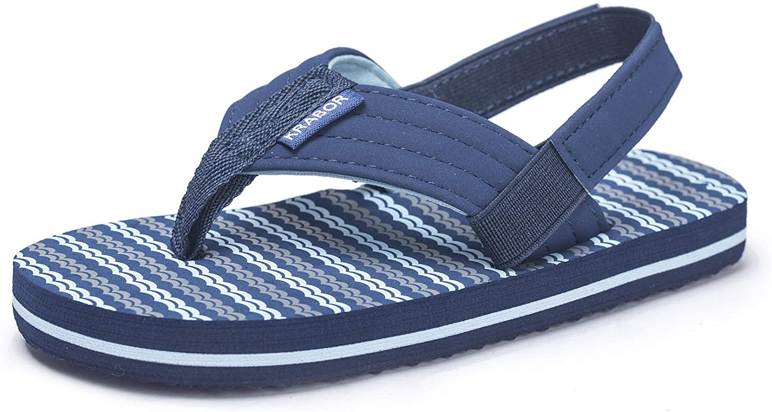 Boys Girls Flip San Jose Mall Flops Sandals with Little for Strap Toddler Courier shipping free shipping Back