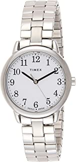 Timex Women's Quartz Watch, Analog Display and Stainless Steel Strap TW2R58700