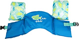 SwimWays Sea Squirts Swim Trainer Life Jacket - Blue Shark
