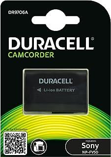Duracell DR9706A - Batería de videocámara 7.4 V 650 mAh (reemplaza batería Original de Sony NP-FV50)
