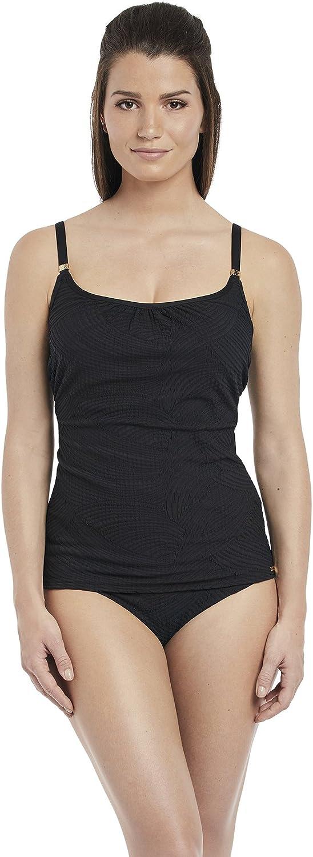 Fantasie Womens Ottawa Black Underwire Scoop Neck Tankini Top 6362 Black Various Sizes