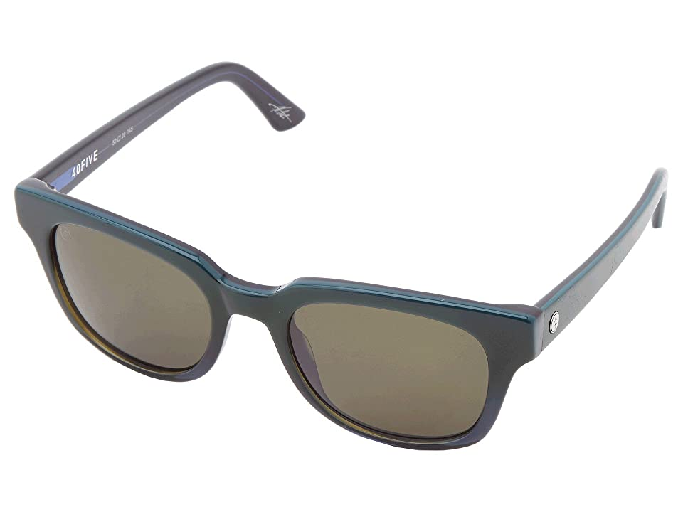 Electric Eyewear 40Five (Dark Seas/M Grey) Sport Sunglasses