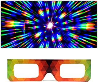 3d rainbow glasses