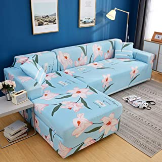 Elastic Couch Cover L-shape Sofa Covers,soft High Stretch Couch Shield Universal Furniture Protector Universal Sofa Slipco...