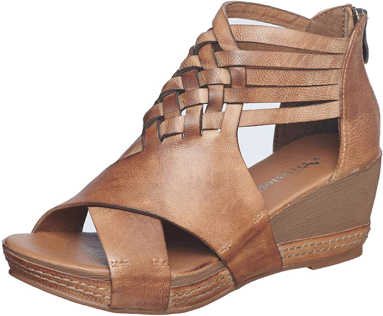 Antelope Ranking TOP16 Leather Women's Wedge Sandals Tavi Ultra Alternative dealer 462 Comf