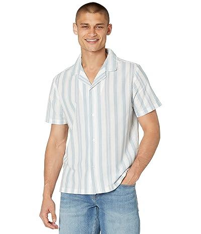 NATIVE YOUTH Short Sleeve Shirt in Stripe