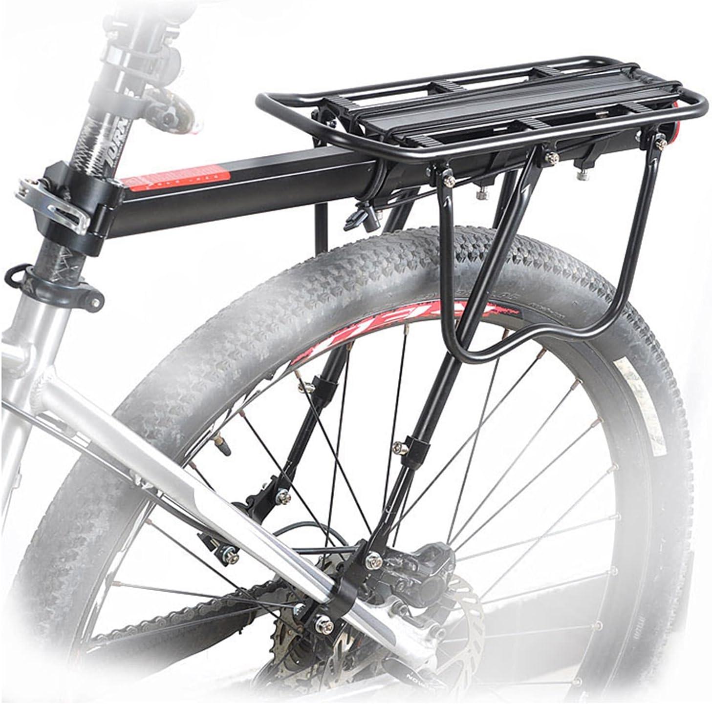 55% OFF Qikafan Bike Pannier Rack New sales Rear Adjustable Bicycle Carrier