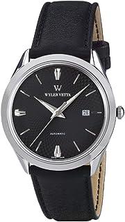Wyler Vetta - EL WYLER VETTA Patrimonio DE LA Gran Fecha Reloj ES DE Cuerda Manual DE Acero WV0021