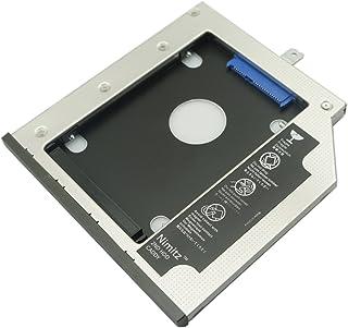 Nimitz 9.5mm厚のSATA光学ドライブを搭載した Lenovo ThinkPad T440p T540p W540p W541 などの光学ドライブをHDDやSSDに置き換えるためのキット