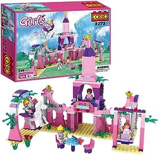 COGO ブロック オモチャ 夢幻の世界  知育 積み木 女の子 玩具 プレゼント 346pcs CG3273