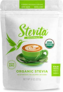 Sponsored Ad - Stevita Organic Spoonable Stevia Pouch - 8 Ounces - All Natural Stevia Extract, Natural Sweetener - USDA Or...