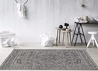 Persian Area Rugs Area Rug Carpet, Grey