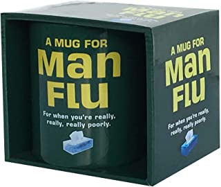 Buy Direct From Us Hottest Gift present. Never lose you mug at work again. MUG: Man Flu