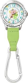 かえるのピクルス カラビナ付きウォッチ(蓄光) グリーン ST-CPF0001