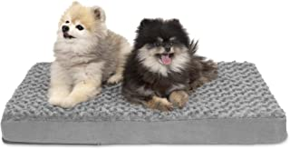 Furhaven Pet Dog Bed   Deluxe Cooling Gel Memory Foam Orthopedic Ultra Plush Mattress Pet Bed for Dogs & Cats, Gray, Medium