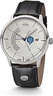 Kronsegler - Reloj automático para Hombre Oxford Masters, de Acero Plateado