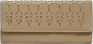 Aisna women beige wallet (ASC-006) (beige)