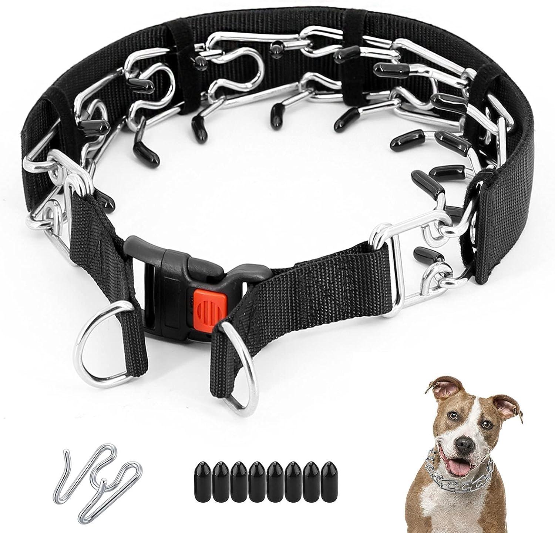 Dog High order Prong Max 59% OFF Collar Training Adjustable Choke Pinch