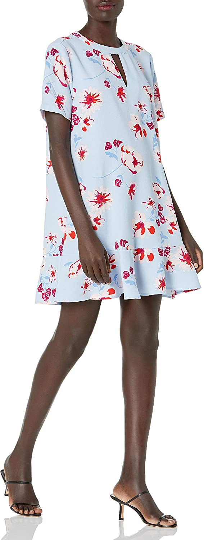 Mud Pie Women Cashmere Breeze Lana Flounce Dress