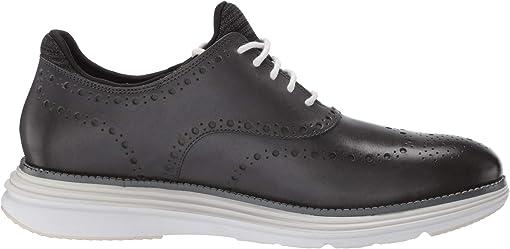 Gray Pinstripe Leather/Nimbus Cloud/Optic White
