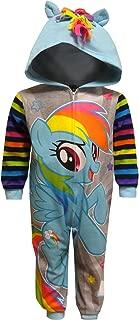 Sleepwear Girls' My Little Pony Rainbow Dash Hooded Sleeper