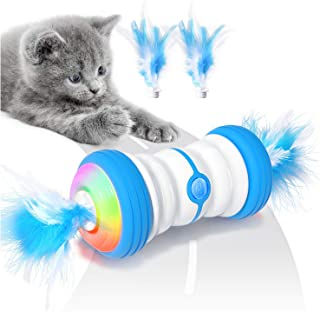 Sponsored Ad - Biilaflor Interactive Cat Toys for Indoor Cats, Electric Automatic Robotic Cat Toy, Bulit-in Active Program...