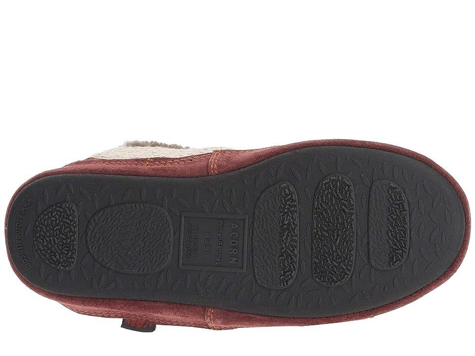 Acorn Slouch Boot (Camooo) Women's Slippers, White