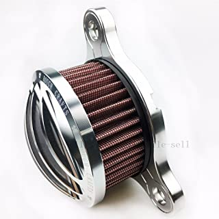 Motorcycle harley Air Filter harley air intake system For 2004 - 2015 Harley Sportster 883 iron 883 xl 1200 silver