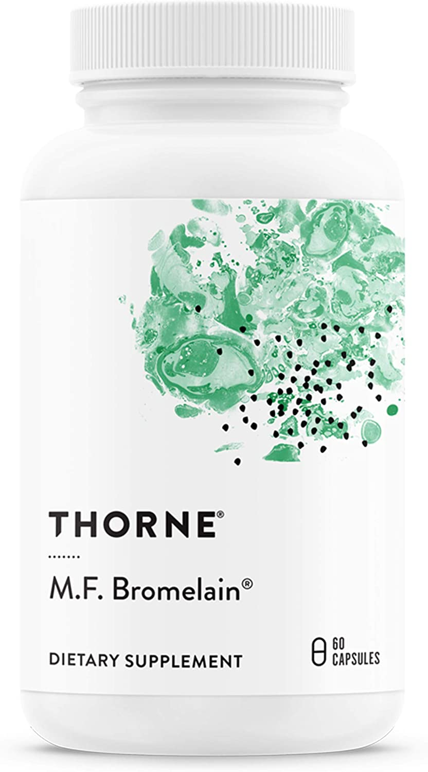 Thorne Research - M.F. Bromelain Protein-Digestin San Francisco Mall Proteolytic Long-awaited