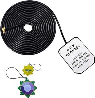 HQRP Antena Externa GPS amplificada 1575.42 MHz de Montaje magnético para GPSMAP 96 C (010–00384–00) / GPSMAP 60 CSX Naveg...