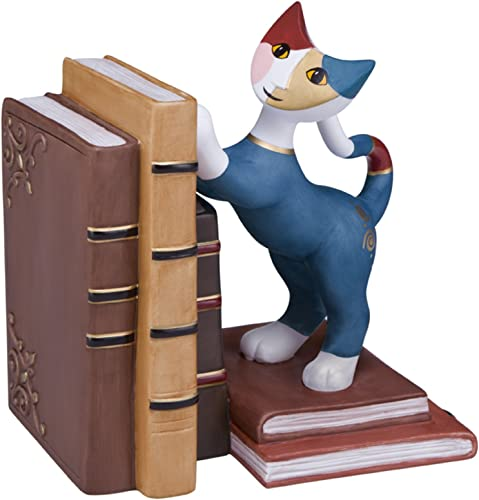 promocionales de incentivo Goebel 66882929 Teo E la SUA Biblioteca Figura, Figura, Figura, Porcelana de Galletas,, 14,5x 10x 16cm  al precio mas bajo