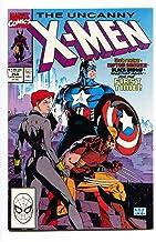 UNCANNY X-MEN #268 1990-Captain America-Black Widow - NM-