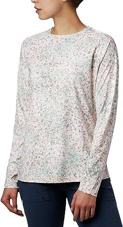Tiki Pink Bubbles Print