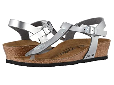Birkenstock Ashley by Papillio (Metallic Silver Birko-Flor) Women
