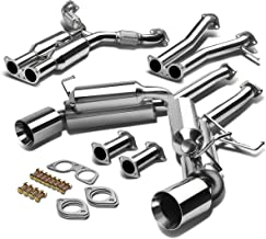 For Nissan 350Z/Infiniti G35 Dual 4.5 inches Rolled Muffler Tip Hi-Power Catback Exhaust System