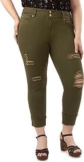 WallFlower Women's Plus-Size Luscious Curvy Crop/Capri Jeans
