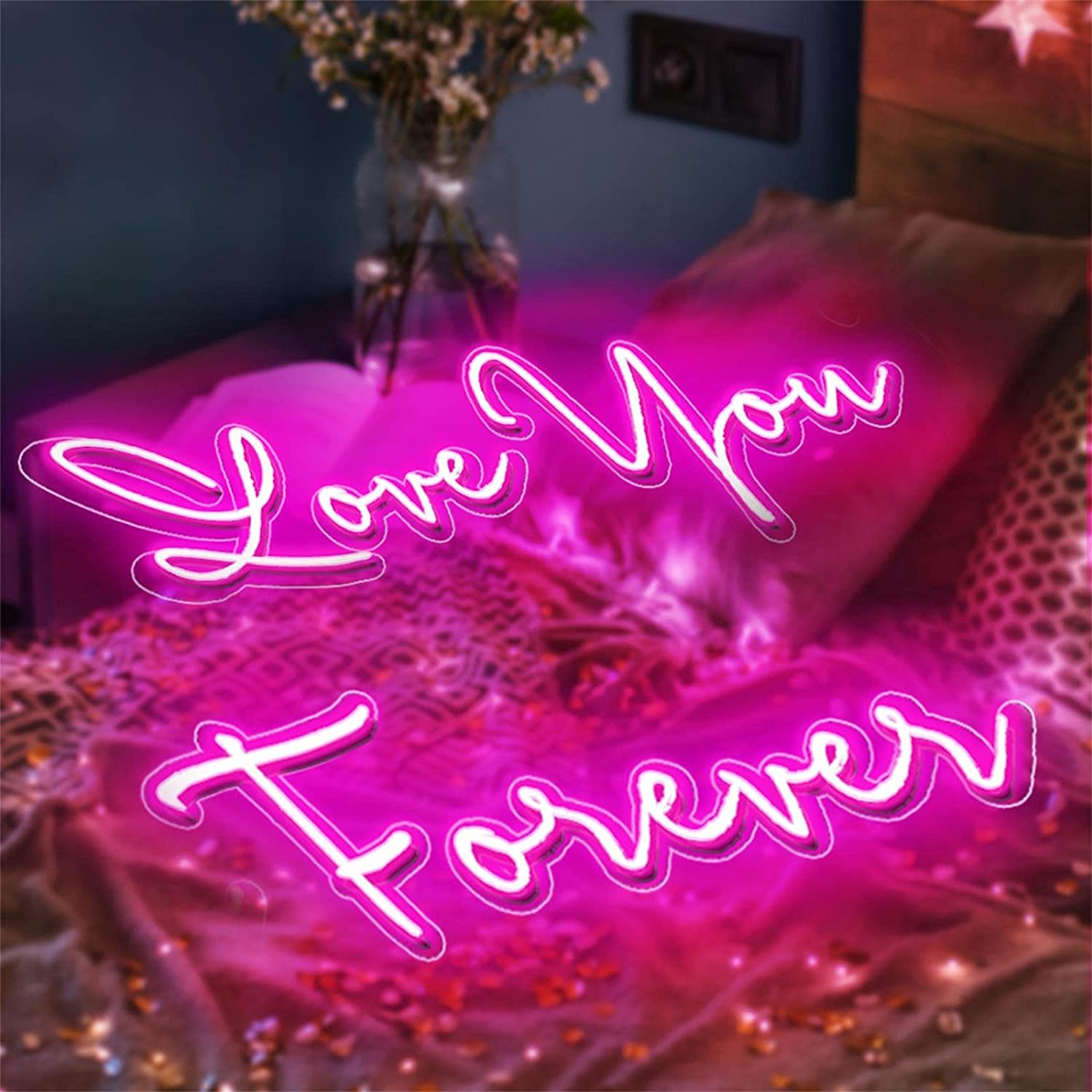 Buy Custom Neon Signs for Wall Decor Personalized Your Name Text Logo, Customized LED Neon Lights Sign Bedroom Bar Salon Wedding Party Decor Gifts  Online in Turkey. B091Z1GQYG