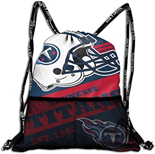 GUOZX New England Patriots Multiple Storage Spaces Backpack Drawstring Backpack Gym Sackpack Sport Bag for Men & Women