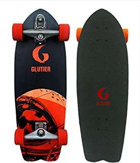 Glutier Surfskate with T12 Surf Skate Trucks Space...