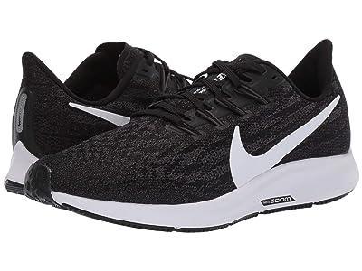 Nike Air Zoom Pegasus 36 (Black/White/Thunder Grey) Women