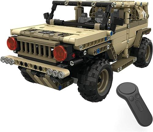 nueva marca XUMING Juguetes DIY para Bloques de construcción para Niños de de de 8 a 14 años y Mayores, Control Remoto Militar Hummer Electronic Interactive Walking Toys  costo real