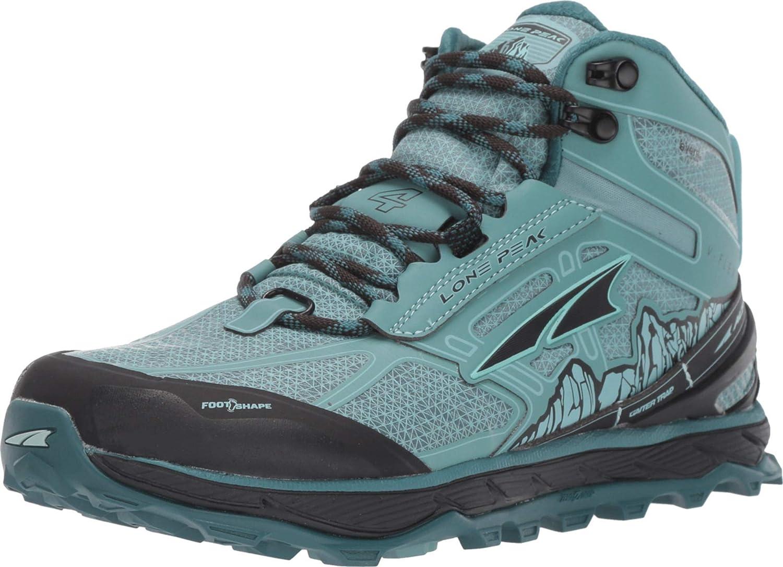 ALTRA Womens Lone Peak 4 Mid Mesh Trail Running Shoe