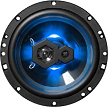 BOSS Audio Systems Audio Systems Elite B65LED 6.5 Inch Car Speakers - 300 Watts of Power Per Pair, 150 Watts Each, 3 Way, Sold In Pairs, Easy Mounting