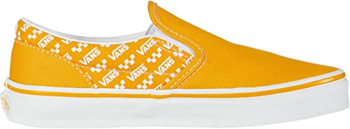 (Logo Repeat) Cadmium Yellow/True White