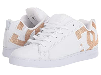 DC Court Graffik SE W (White/White/Metallic Gold) Women