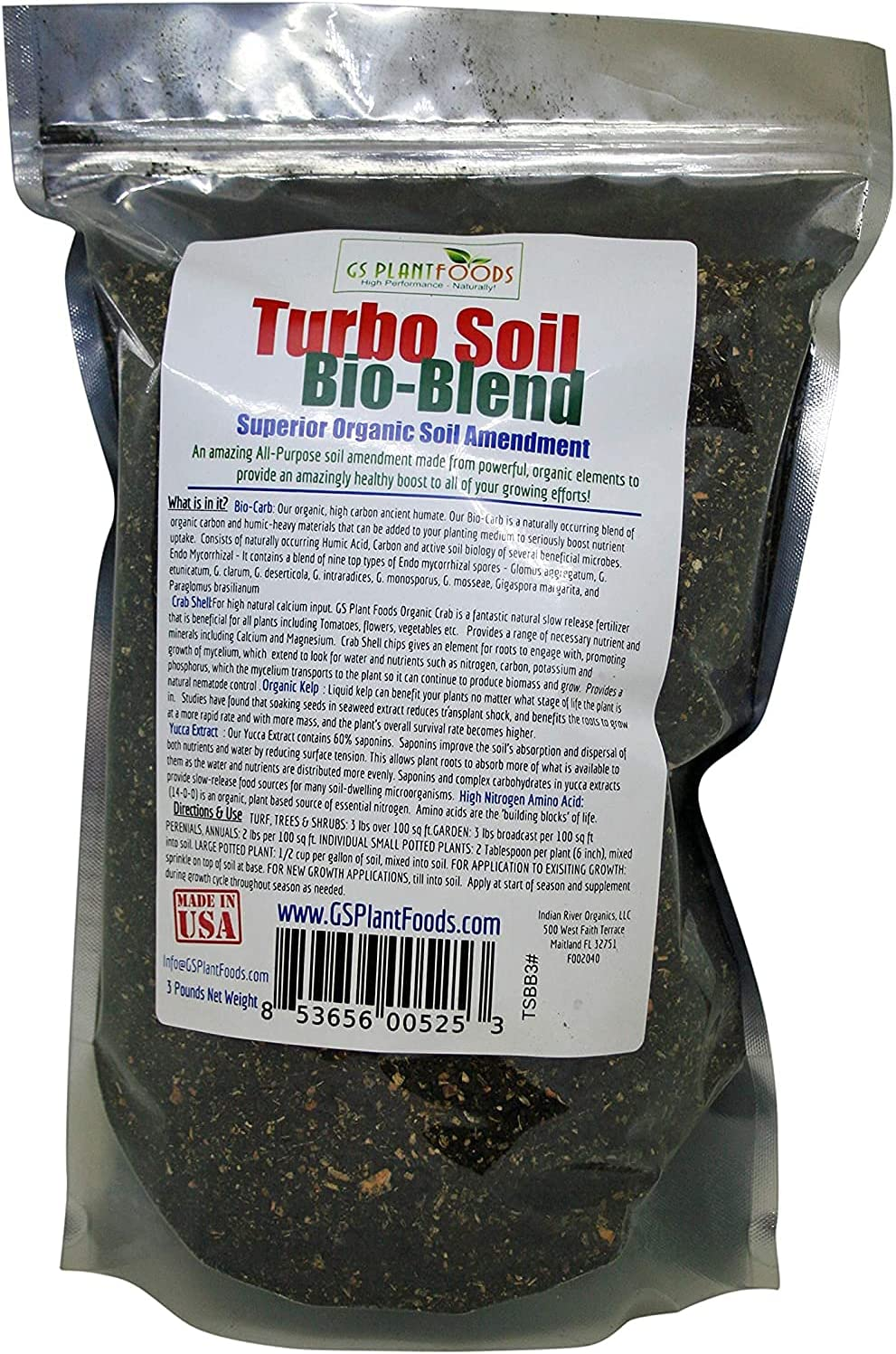 Max 57% OFF Turbo Soil Bio-Blend - Superior Organic Amendment Humi NEW before selling ☆ with