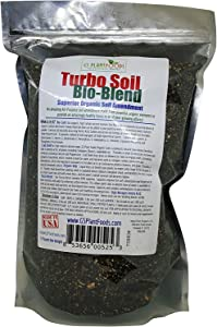 Turbo Soil Bio-Blend - Superior Organic Soil Amendment by GS Plant Foods (3 lbs) - Soil Booster for Raised Beds, Gardens & Potted Plants