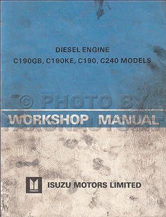 Amazon com: Isuzu Engine Manual: Books
