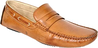 Lee Fox Pure Leather Tan Casual Shoe